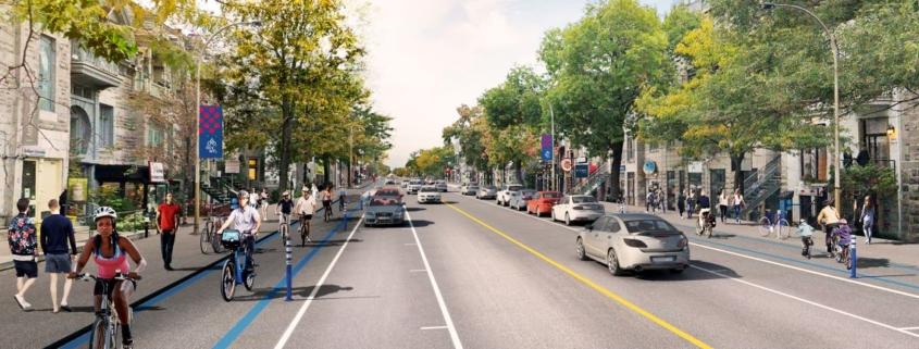 Le Réseau express vélo sur Saint-Denis
